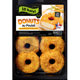 DONUTS AU POULET FROMAGE -...