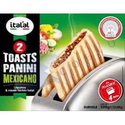 Toast panini mexicano - Unité 160g - Italal