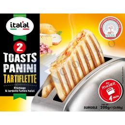 Toast panini tartiflètte - Unité 160g - Italal
