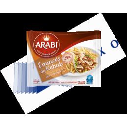 Emincé de kebab - 400g x 7 - Arabi