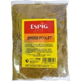 EPICES POULET - Pièce 100g -