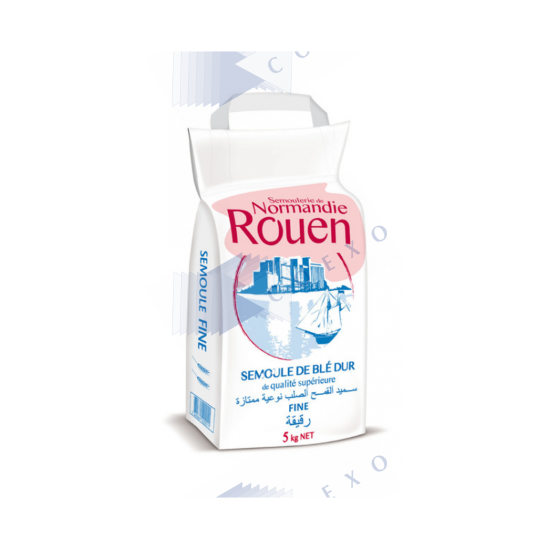 Semoule fine - sac 5 kg -  Rouen