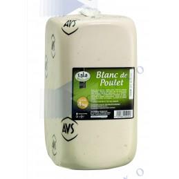 BLANC DE POULET CUIT - Bloc 4Kg - ISM