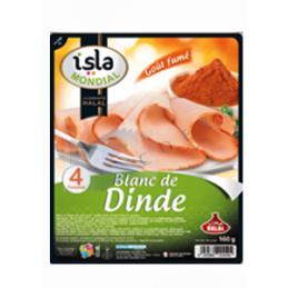 BLANC DE DINDE FUME - Unité 160g - ISM