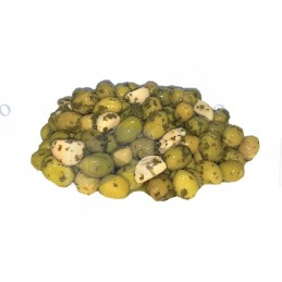 OLIVE CASSEE A L'AIL - 8kg...