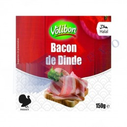 BACON DE DINDE TRANCHE -...