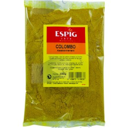 EPICES COLOMBO - Sachet 100g -