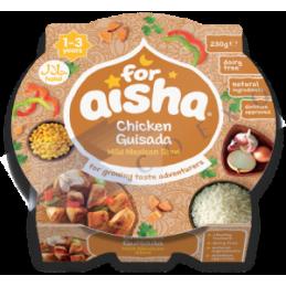 FOR AISHA poulet mexicain 200g