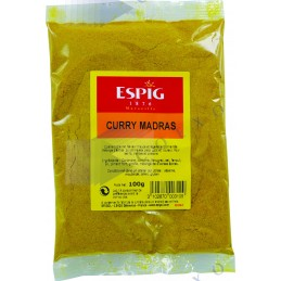 CURRY MADRAS - Sachet 100g -