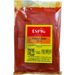 PIMENT FORT MOULU - Sachet 100g -