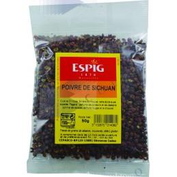 POIVRE DE SICHUAN - Sachet 50g -