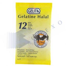 GELATINE FEUILLE - 12...