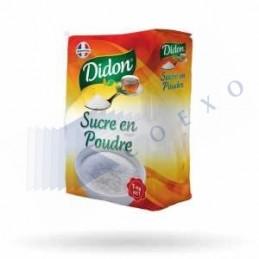 SUCRE CRISTAL FIN - Unité 1kg - DIDON
